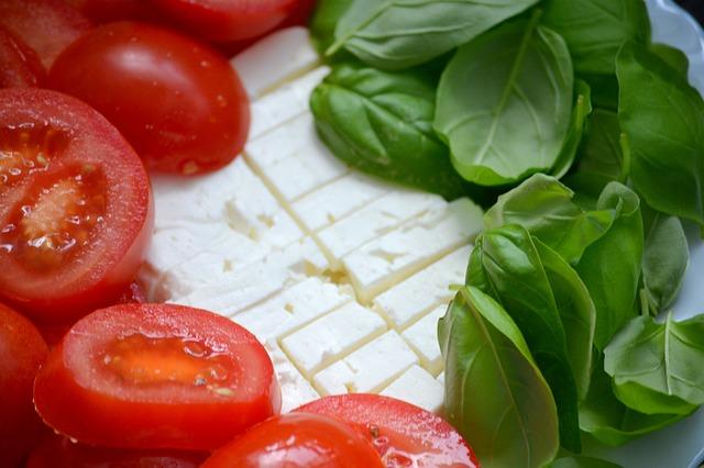 Tomato, Cheese