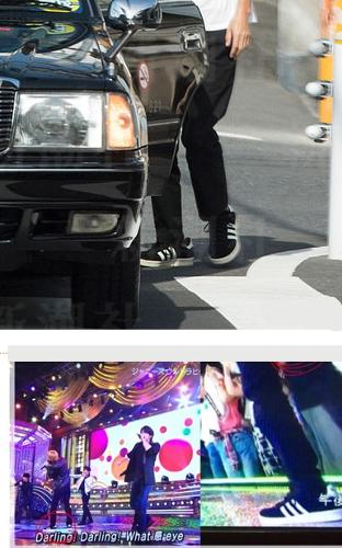 お泊まり後、宮沢りえ宅から出てきて森田剛の靴が、ステージで履いていたものと一緒だという証拠写真が!